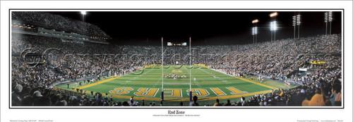 "LSU Tigers ""End Zone"" Tiger Stadium Panoramic Poster"