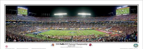 "Florida Gators ""2009 BCS National Championship"" Panoramic Poster"