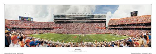 Florida Gators Ben Hill Griffin Stadium Panoramic Poster