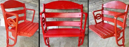 Crosley Field Restored Seat - Cincinnati Reds
