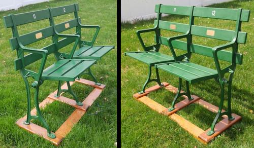 Sportsmans Park - St. Louis Cardinals/Browns Seat Pair