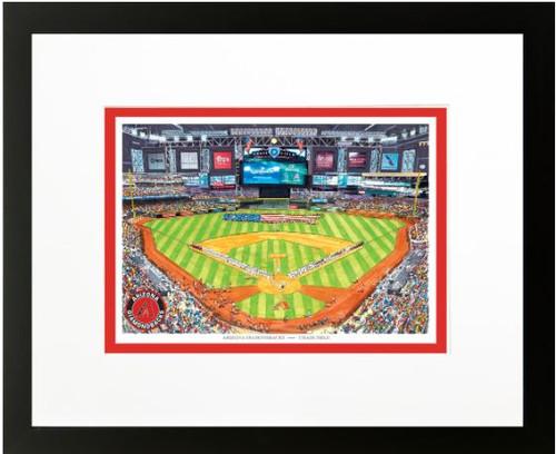 Chase Field - Arizona Diamondbacks Art Print