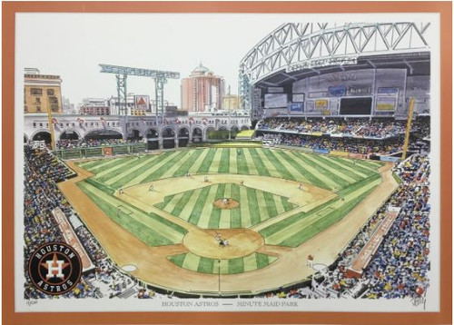Minute Maid Park - Houston Astros Art Print