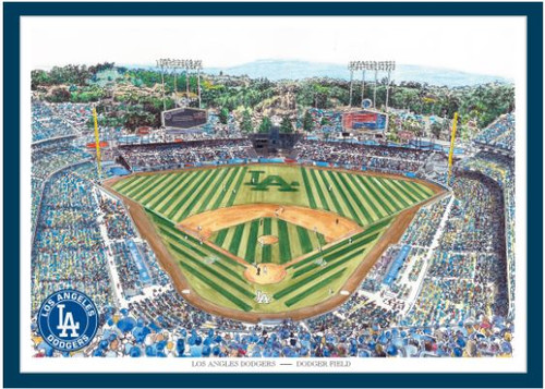 Dodger Stadium - Los Angeles Dodgers Art Print