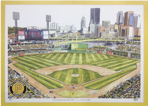 PNC Park - Pittsburgh Pirates Art Print