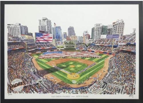 Petco Park - San Diego Padres Art Print