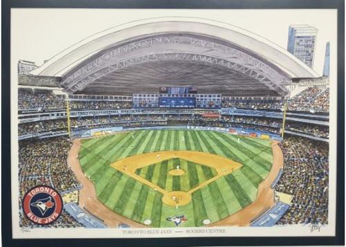 Rogers Centre - Toronto Blue Jays Art Print