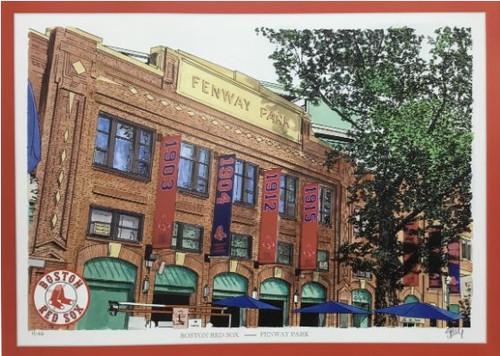 Fenway Park - Boston Red Sox  Art Print