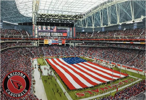 State Farm Stadium - Arizona Cardinals  Art Print