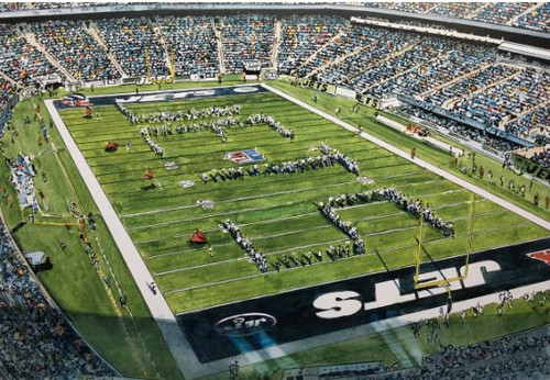 MetLife Stadium - New York Jets Art Print