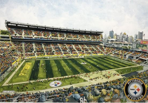 Heinz Field - Pittsburgh Steelers Art Print