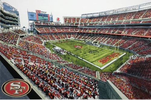 Levi's Stadium - San Francisco 49ers Art Print