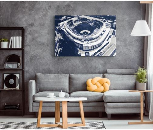 Yankee Stadium - New York Yankees Aerial Canvas Print