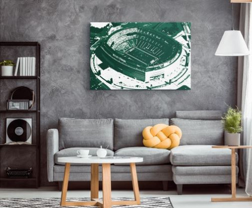 MetLife Stadium - New York Jets Aerial Canvas Print