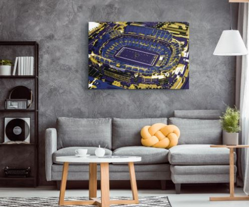 M&T Bank Stadium - Baltimore Ravens Aerial Canvas Print