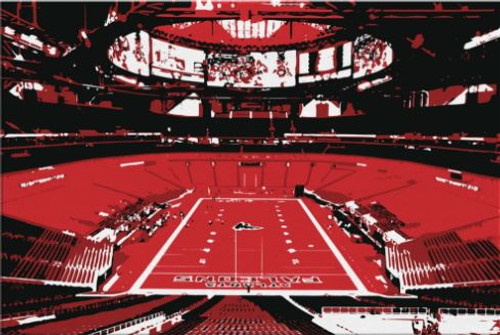 Mercedes-Benz Stadium - Atlanta Falcons Canvas Print