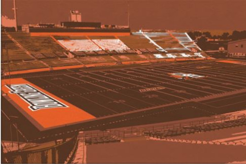 Doyt Perry Stadium - Bowling Green Falcons Canvas Print