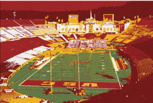 Los Angeles Coliseum - USC Trojans Canvas Print