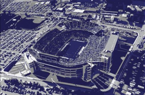 Beaver Stadium - Penn State Nittany Lions Aerial Canvas Print