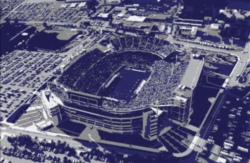 Beaver Stadium - Penn State Nittany Lions Aerial Canvas Print
