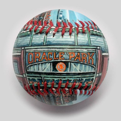 Oracle Park Stadium Baseball