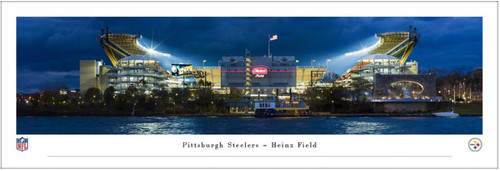 "Pittsburgh Steelers at Heinz Field ""Exterior"" Panoramic Poster"