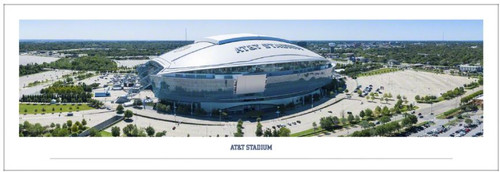 "Dallas Cowboys at AT&T Stadium ""Aerial"" Panoramic Poster"