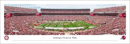 Alabama Crimson Tide at Bryant-Denny Stadium Panoramic Poster