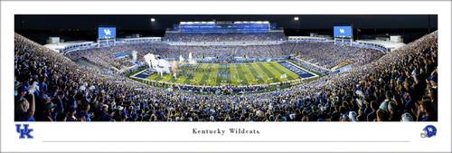 Kentucky Wildcats at Kroger Field Panoramic Poster