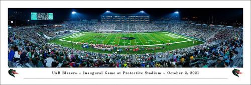 UAB Blazers at Protective Stadium Panoramic Poster