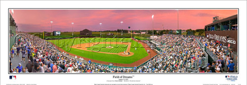 Field of Dreams Game - Dyersville, Iowa Panoramic Framed Poster