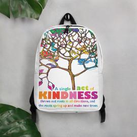 Minimalist Backpack - Kindness