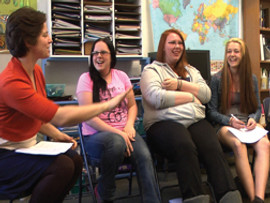 Why We Drop Out: A Video Bridge Dialogue between Youth, Teachers, and Administrators