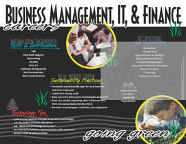 Business Management, IT & Finance Careers