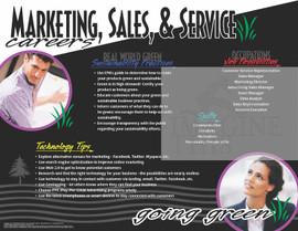 Marketing, Sales, & Service  Careers