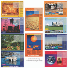 Global Warming & Climate Change Poster/Banner  Series of 10