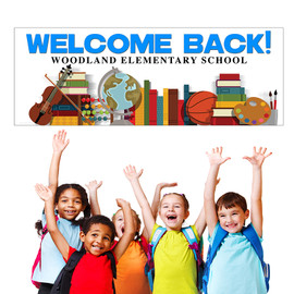 Welcome/School Supplies(French) Banner