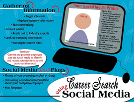 tips on using social media poster goes with Curriculum kit