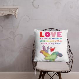 Love - Shades of Inspiration - Premium Pillow