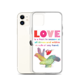 Love - Mother Teresa- Shades of Inspiration -  iPhone Case