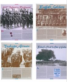 Black Military Units Poster Set