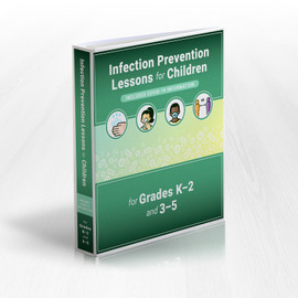 Infection Prevention Lessons for Children Includes COVID-19 Information