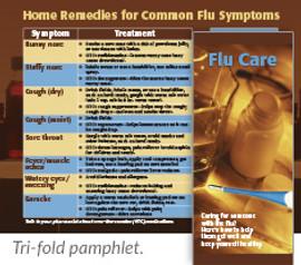 Flu Care Pamphlets
