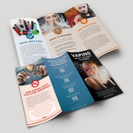Vaping What You Need to Know Pamphlet