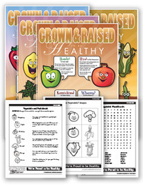 Grown and Raised Fruits and Vegetables Kit