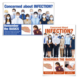 Concerned About Infection Posters