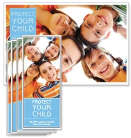 HPV Circle of Kids Poster and/or Fact Cards educational product