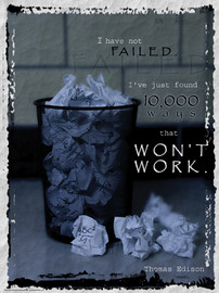 26-PS70-3 I've Not Failed