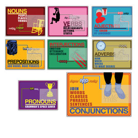 Parts of Speech Poster Series Image