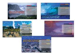 Five Eco-Spheres Poster Series (Set of Five)